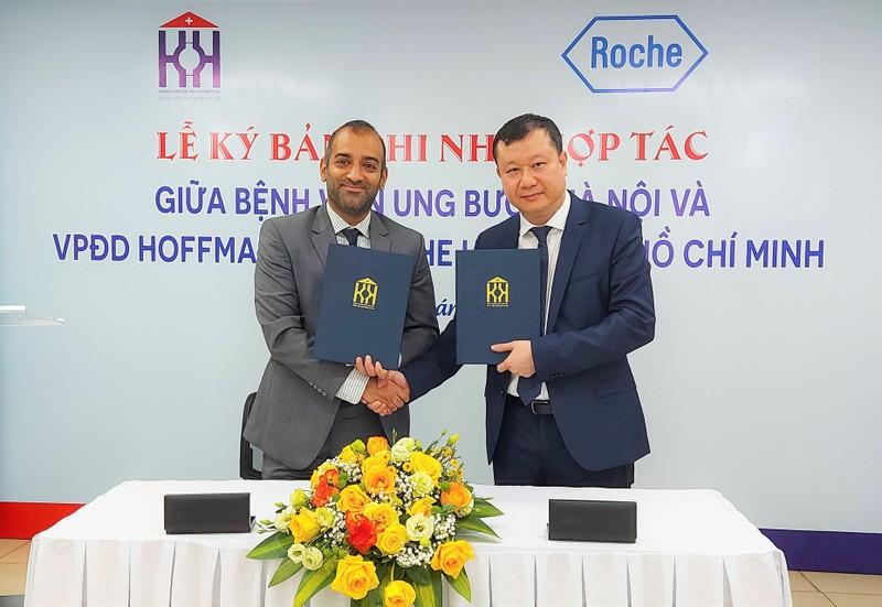 Bệnh viện Ung Bướu Hà Nội và Roche Việt Nam ký kết  Thỏa thuận Ghi nhớ đẩy mạnh hợp tác nhằm nâng cao chất lượng điều trị ung thư