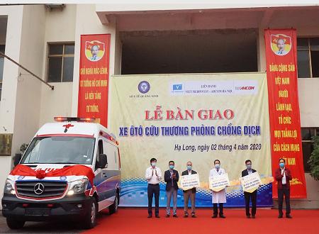 Quảng Ninh trang bị 3 xe cứu thương, phòng dịch tiêu chuẩn quốc tế