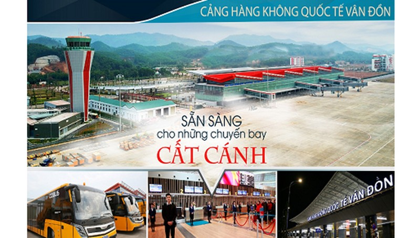 Sân bay Vân Đồn sẽ mở lại các đường bay thương mại từ 4/5