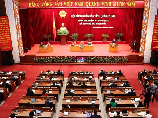 Kỳ họp thứ 21, HĐND tỉnh khóa XIII, nhiệm kỳ 2016-2021.
