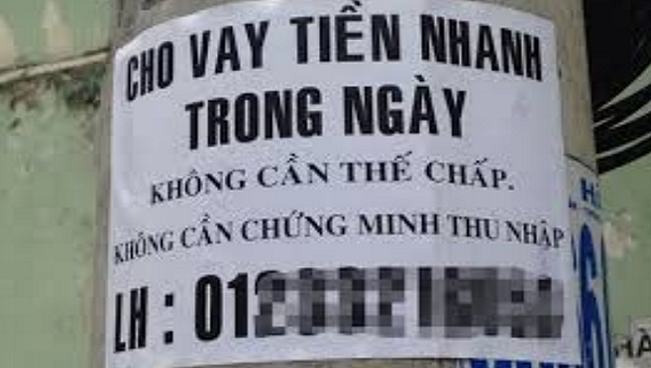 """Công an Quảng Ninh khuyến cáo người dân cảnh giác với """"tín dụng đen""""."""