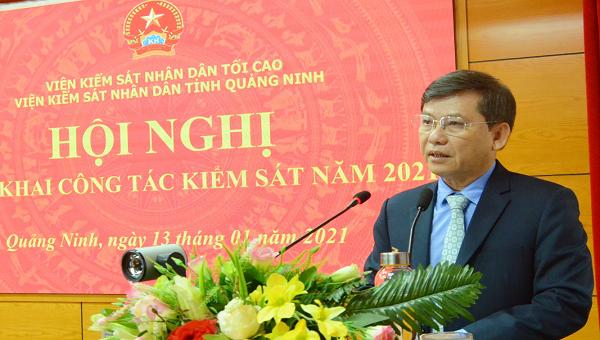 Kiểm sát Quảng Ninh cần tiếp tục kiên quyết đấu tranh phòng, chống tội phạm