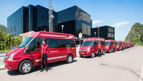 Lượng xe khách phục vụ nhu cầu di chuyển của người dân dịp Tết Nguyên đán đều đã sẵn sàng.