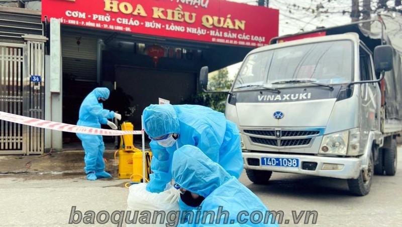 Quảng Ninh có 1 ca nhiễm Covid-19 và 10 ca nghi nhiễm Covid-19 trong cộng đồng