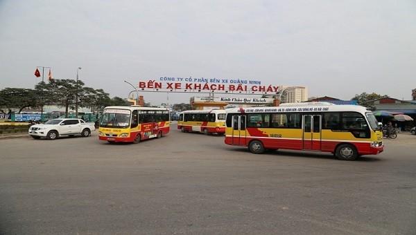Hoạt động kinh doanh vận tải khách tại Quảng Ninh được hoạt động từ 12h ngày 6/2
