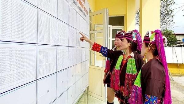 Cử tri Quảng Ninh hân hoan hướng về ngày bầu cử