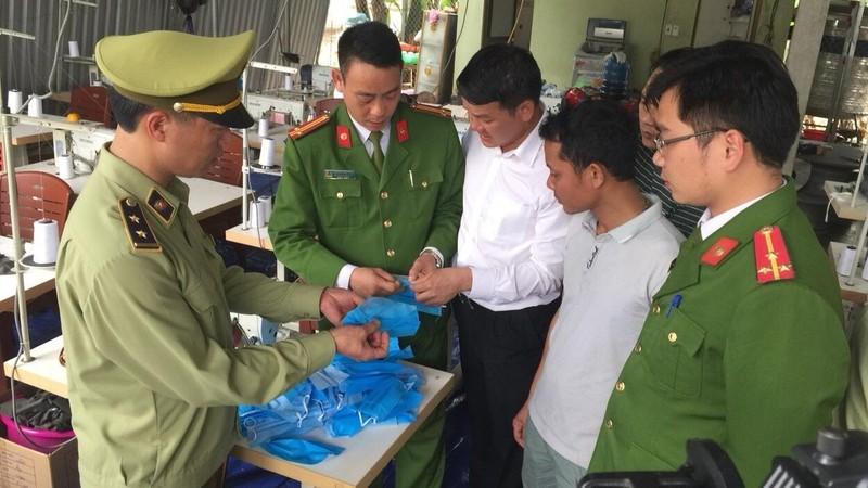 Nghệ An: Chủ lò mổ sản xuất hơn 30.000 khẩu trang giả