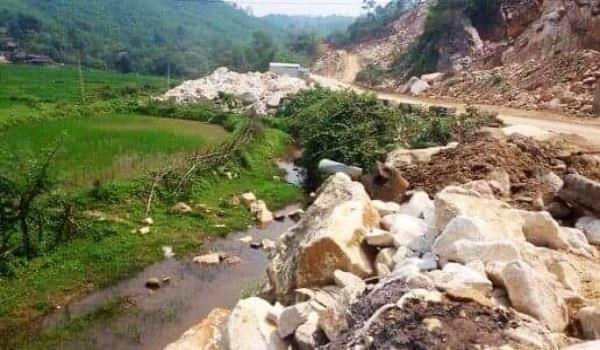 Quỳ Hợp (Nghệ An): Tai nạn ở mỏ đá, một công nhân tử vong.