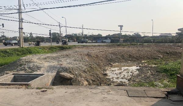 Hình ảnh Dự án Hưng Lộc dù bị đình chỉ nhưng vẫn được thi công.