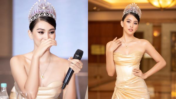 Tiểu Vy bật khóc nhìn lại hành trình 2 năm đăng quang Hoa hậu
