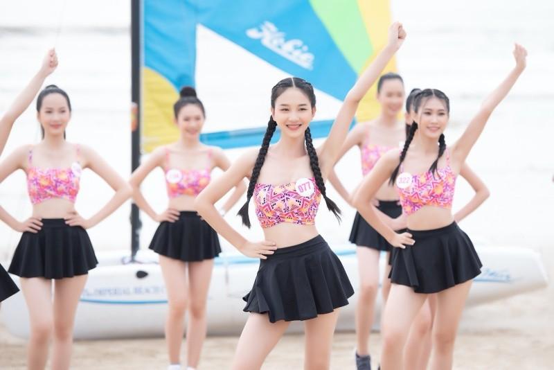 Top 35 thí sinh Hoa hậu Việt Nam cạnh tranh... thể lực