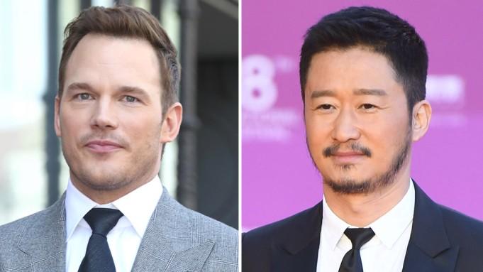 Chris Pratt và Ngô Kinh thể  hiện lại vai diễn của Kim Lý, Thái Hòa trên màn ảnh.