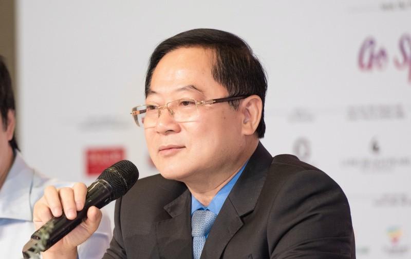 Ông Lê Xuân Sơn, Trưởng BTC Hoa hậu Việt Nam.