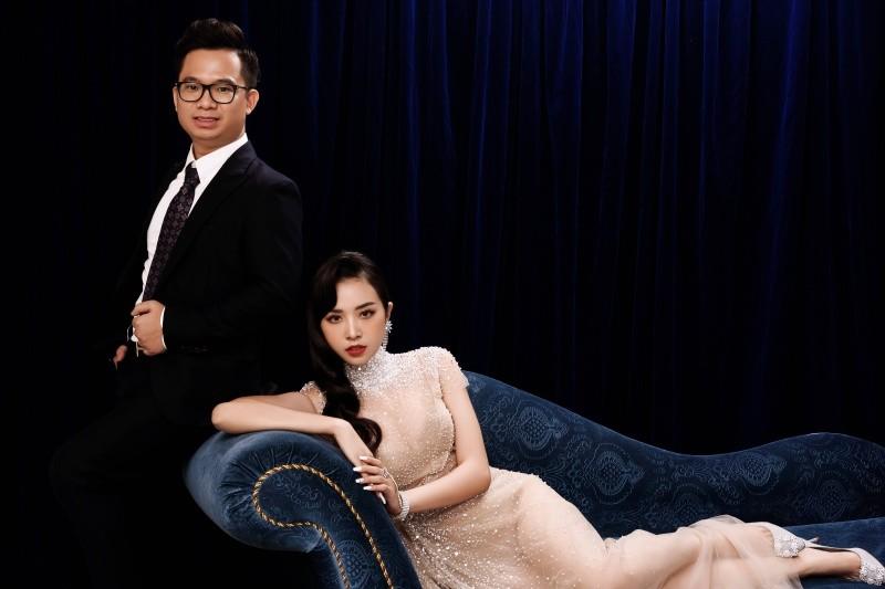 Bộ ảnh cưới của Á hậu Thúy An và chồng tiến sĩ được thực hiện theo các concept ấn tượng.