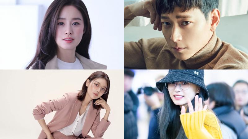 Kim Tae Hee, Kang Dong Won, Sooyoung (SNSD), Tzuyu (TWICE) có xuất thân danh giá.