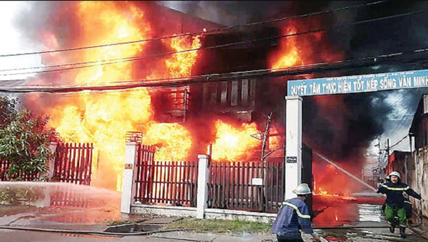 Làm sao thoát khỏi đám cháy an toàn?