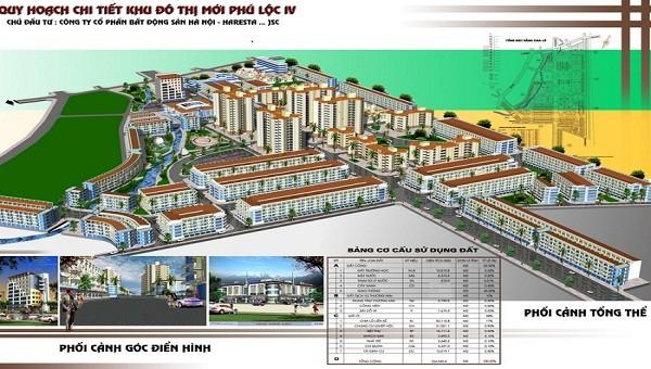 phối cảnh dự án KĐT Phú Lộc