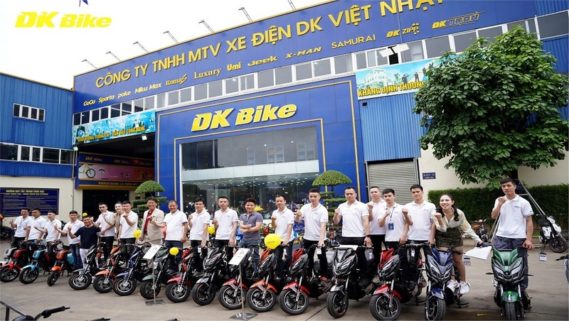Hiện DKBike đã mở rộng hệ thống phân phối tại 63 tỉnh thành trên cả nước, với trên 900 đại lí