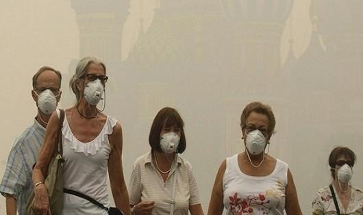 Không khí bẩn, mức độ tiếng ồn dẫn đến chứng mất trí nhớ