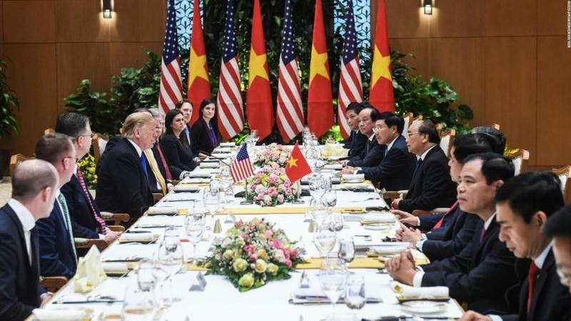 Có gì đặc biệt trong bữa trưa tiếp đãi Tổng thống Donald Trump?