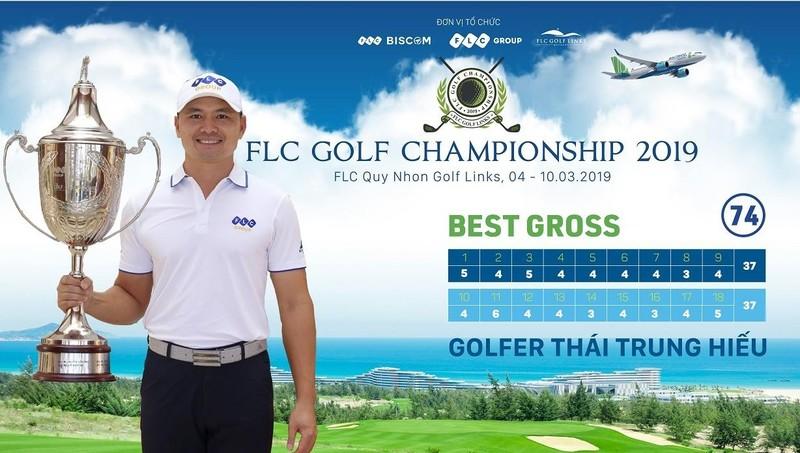 Golfer Thái Trung Hiếu chiến thắng ngoạn mục tại FLC Golf Championship 2019