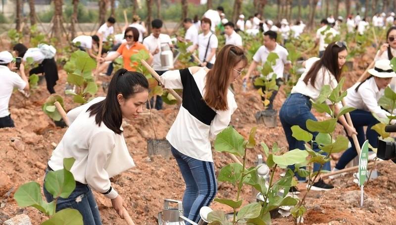 10.000 cây xanh được gieo trồng trong Lễ phát động chiến dịch Go Green 2019 của Tập đoàn FLC