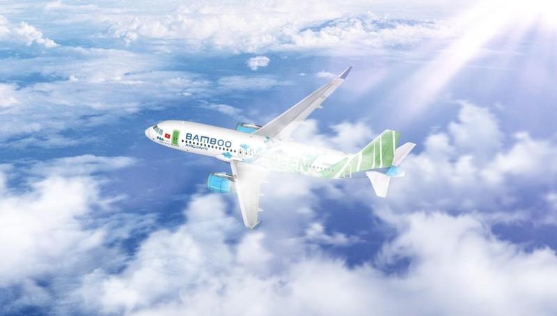 """Diện mạo độc đáo trên thân máy bay A320neo của Bamboo Airways sẽ chính thức """"lộ diện"""" vào tháng 11/2019"""