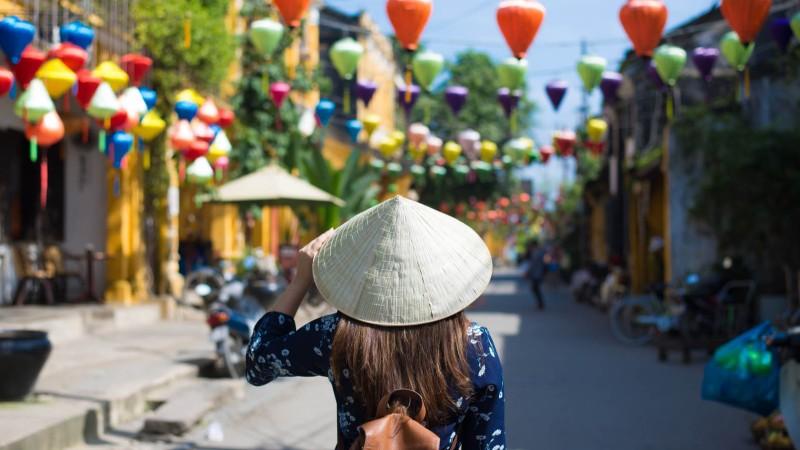 Hội An (Quảng Nam) là một trong những điểm đến của Việt Nam thu hút du khách Hàn Quốc
