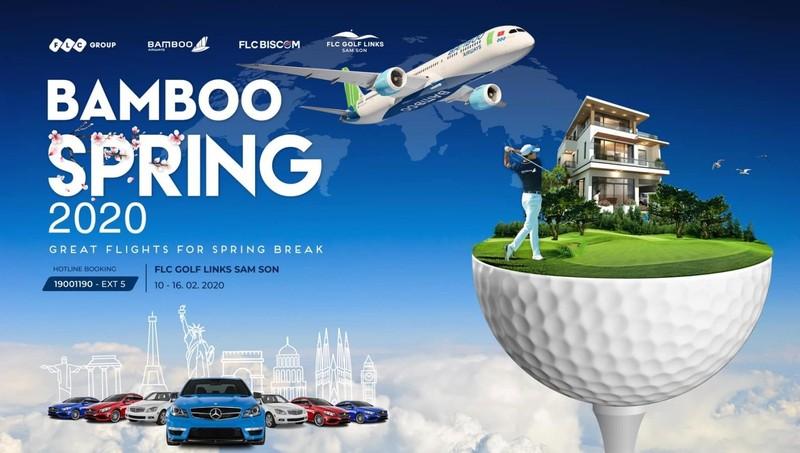 """""""Bamboo – Chuyến bay mùa xuân"""": Giải đấu hấp dẫn cho cộng đồng golfer dịp đầu năm mới"""