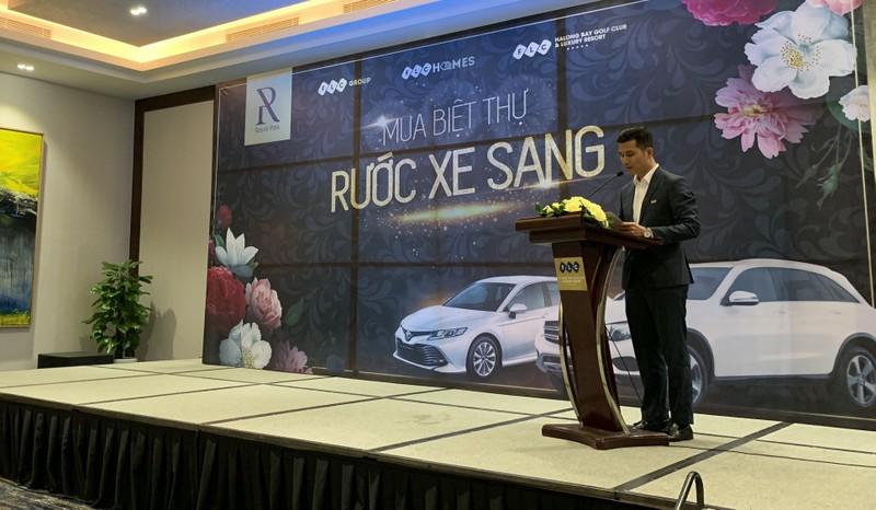 Ông Trần Anh Tuấn - Giám đốc Kinh doanh phát biểu tại sự kiện