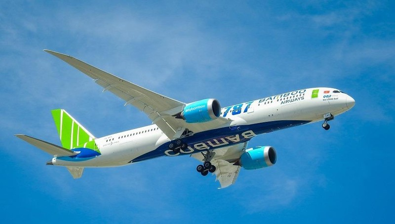 Xuất hiện hình ảnh chiếc 787-9 Dreamliner thứ 2 của Bamboo Airways đang rời xưởng Boeing