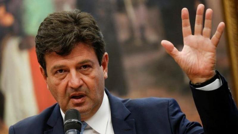 Bộ trưởng Y tế Luiz Henrique Mandetta.