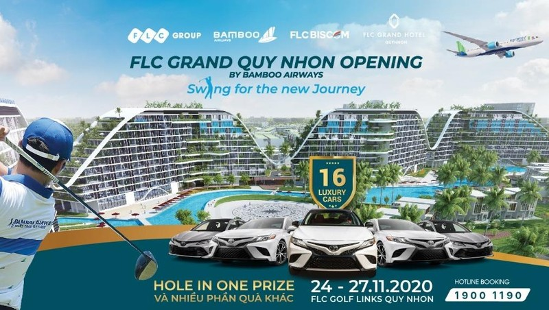 FLC Grand Quy Nhon Opening – Swing for the new Journey.
