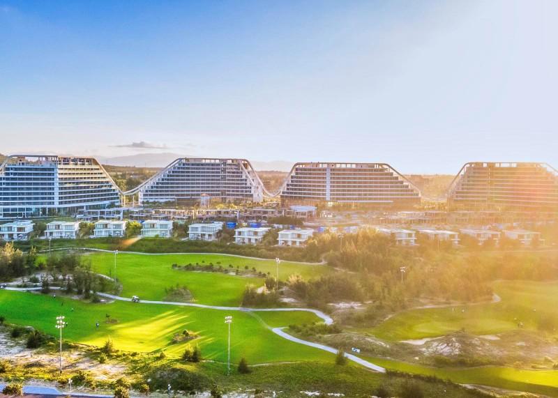 Giải mã kiến trúc độc đáo của FLC Grand Hotel Quy Nhon, khách sạn quy mô hàng đầu Việt Nam