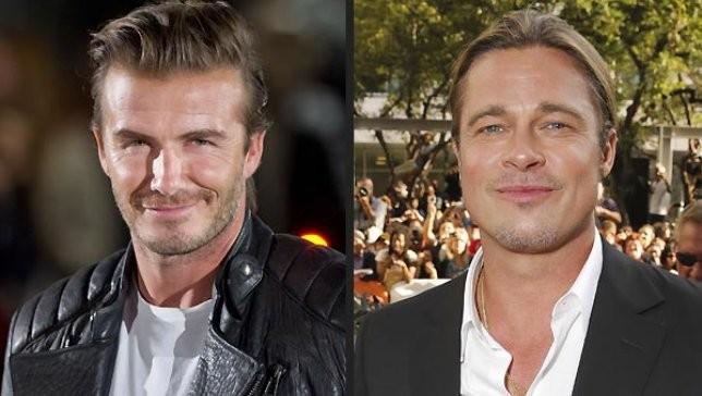 David Beckham muốn Brad Pitt đóng vai mình trên phim