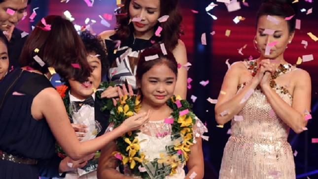 Nguyễn Thiện Nhân đăng quang Giọng hát Việt nhí 2014.