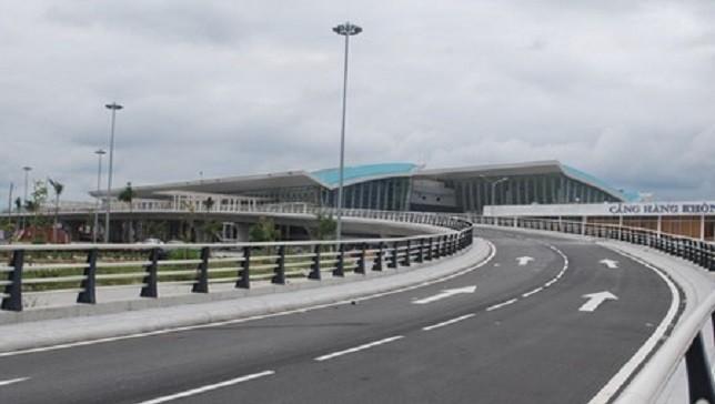 Cảng Hàng không quốc tế Đà Nẵng được xây dựng mới và đưa vào khai thác từ cuối năm 2011