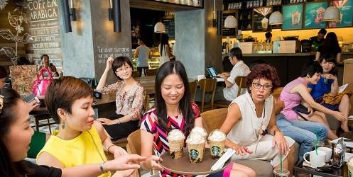 Hứng khởi cùng mùa hè tại Starbucks