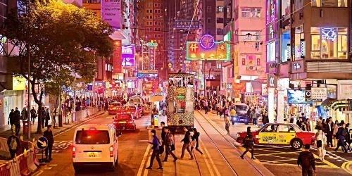 Những khu phố giải trí nổi tiếng về đêm ở Hong Kong