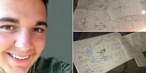 Chàng sinh viên thiết kế cả chiếc máy bay trong lúc say xỉn