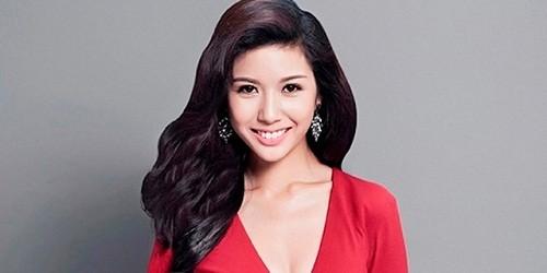 Thúy Vân vừa nhận danh hiệu Á hậu 3 tại cuộc thi Hoa hậu Quốc tế 2015