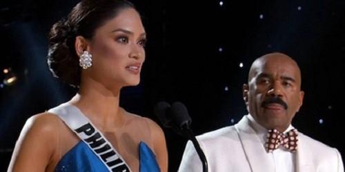 Sự cố khó tin ở Hoa hậu Hoàn vũ 2015