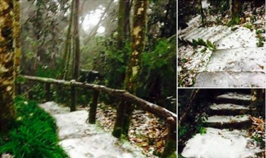 Rét kỷ lục, Hà Nội bất ngờ có tuyết