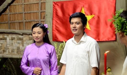 Thủ tướng Võ Văn Kiệt thời trẻ và vợ. Ảnh: ĐPCC