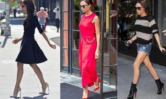 Vic gắn liền với những đôi giày cao gót dù đi dạo phố hay lên thảm đỏ.