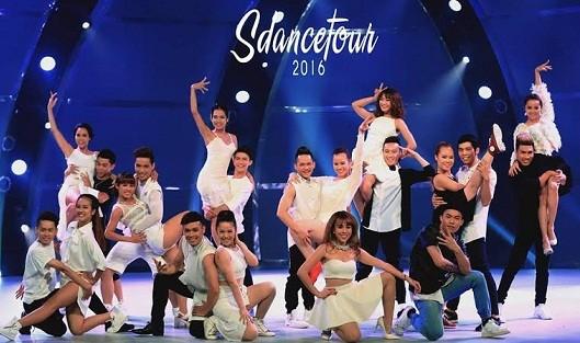 """Dàn vũ công """"Thử thách cùng bước nhảy"""" bùng nổ với S-Tour"""