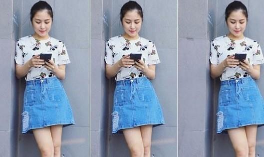 Mặc Jean sành điệu như sao Việt