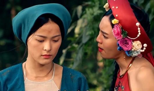 Bạn gái Cường Đô la bị Ngô Thanh Vân 'vùi dập' trong phim mới