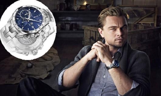 Leonardo DiCaprio lại là một tín đồ của TAG Heuer. Anh có một chiếc Link Calibre 16 Chronograph phiên bản giới hạn giá khoảng 5.000 USD (hơn 111 triệu đồng). Nhà sản xuất chỉ tung ra khoảng 2.000 mẫu trên toàn thế giới.