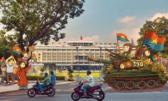 TP mang tên Bác sôi động kỉ niệm 45 năm ngày Thống nhất đất nước
